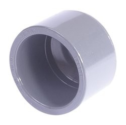 PVC End Cap Plain